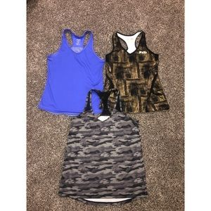 Lot of Work Out Tops Size Small